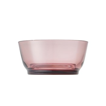 Kinto Hibi Glass Bowl 12.5cm Purple