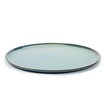 Serax Terres de Reves Collection Stoneware Plate Large Smokey Blue