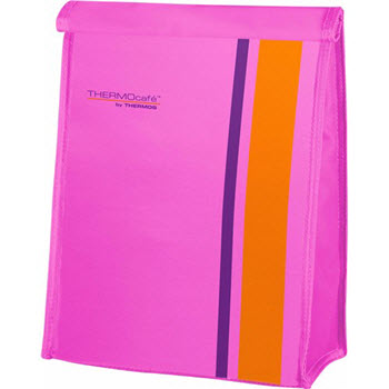 THERMOcafe Fluoro Pink Lunch Sack