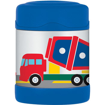 Thermos FUNtainer 290ml Food Jar Construction Vehicles