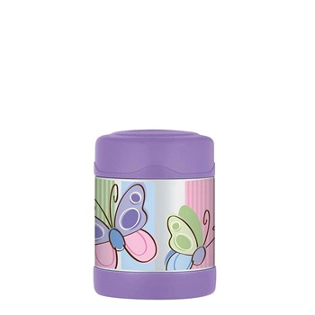 Thermos FUNtainer 290ml Food Jar Purple Butterfly