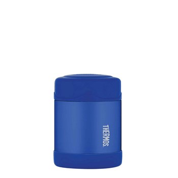 Thermos FUNtainer Stainless Steel 290ml Vacuum Insulated Food Jar Blue