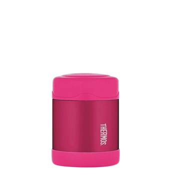 Thermos FUNtainer Stainless Steel 290ml Vacuum Insulated Food Jar Pink