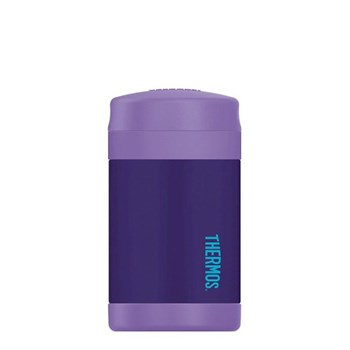 Thermos FUNtainer Food Jar 470ml Stainless Steel Vacuum Insulated Purple