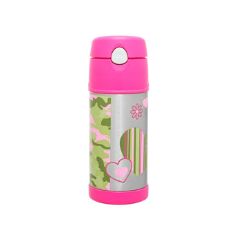 Thermos 355ml FUNtainer Bottle Camo Chick