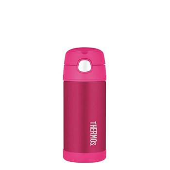 Thermos FUNtainer Stainless Steel 355ml Vacuum Insulated Water Bottle Pink