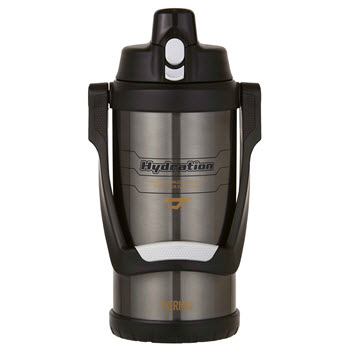 Thermos Stainless Steel Vacuum Insulated 2L Hydration Bottle Grey
