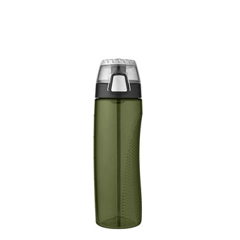 Thermos 710ml Single Wall Eastman Tritan Hydration Bottle Olive Green