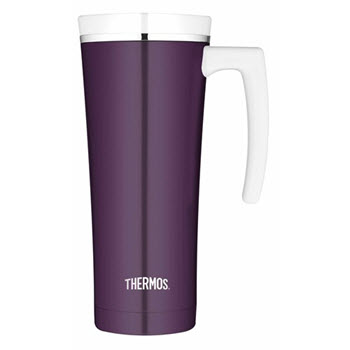 Thermos Sipp Stainless Steel 470ml Vacuum Insulated Travel Mug Plum