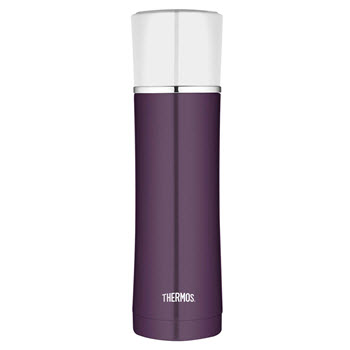 Thermos Sipp Stainless Steel 470ml Vacuum Insulated Flask Plum