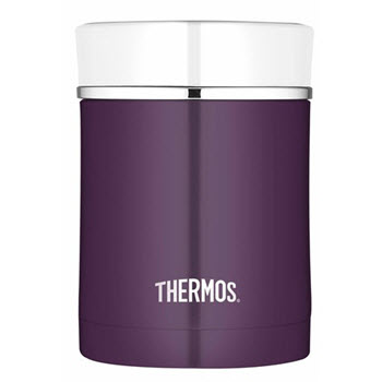 Thermos Sipp Stainless Steel 470ml Vacuum Insulated Food Jar Plum