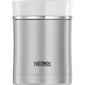 Thermos Sipp Stainless Steel 470ml Vacuum Insulated Food Jar White