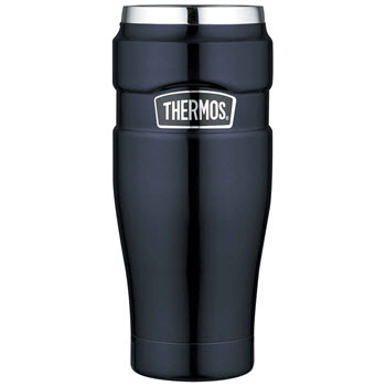 Thermos Stainless King 470ml Tumbler Vacuum Insulated Midnight Blue