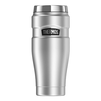 Thermos Stainless King 470ml Stainless Steel  Vacuum Insulated Tumbler – Stainless Steel