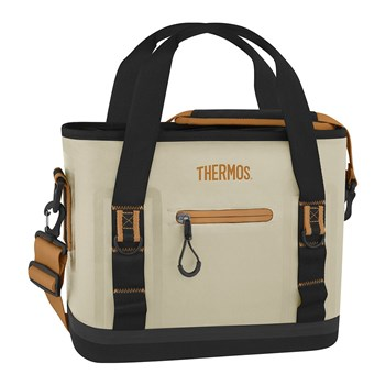 Thermos Trailsman Polyester 12 Can Cooler 38.5 x 15 x 27.5cm Cream