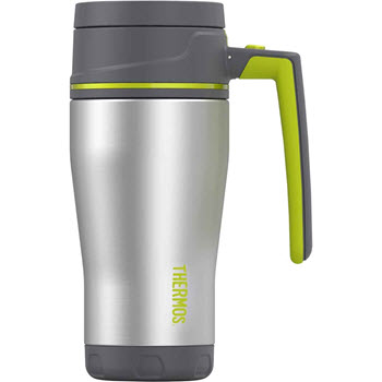 Thermos Element5 470ml Insulated Vacuum Travel Mug Charcoal