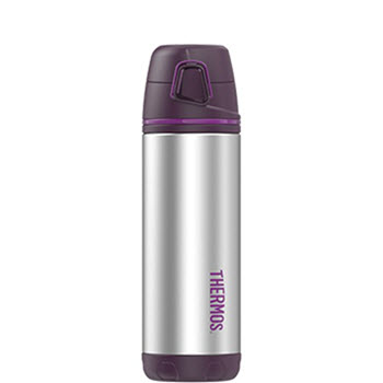 Thermos Element5 470ml Insulated Flask Stainless Steel Purple