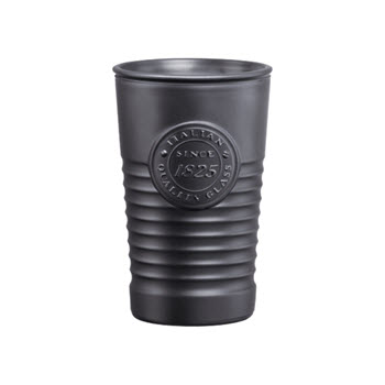 Luigi Bormioli Officina 1825 300ml Tumbler Metallic Black