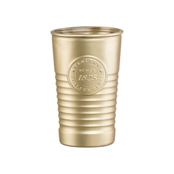 Luigi Bormioli Officina 1825 300ml Tumbler Metallic Gold