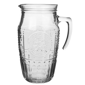 Luigi Bormioli Romantic 1.8L Water Pitcher Clear