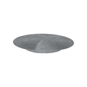 Jab Concrete Matt Cake Stand/Plate Footed Coupe