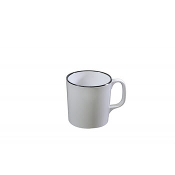JAB Vintage Mug White 350ml
