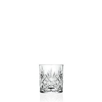 RCR Cristalleria Melodia Double Old Fashion Tumbler 230ml - MIN ORDER QTY OF 6
