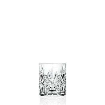 RCR Cristalleria Melodia Double Old Fashion Tumbler 310ml - MIN ORDER QTY OF 6