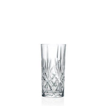 RCR Cristalleria Melodia Highball Glass 360ml - MIN ORDER QTY OF 6