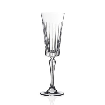 RCR Cristalleria Timeless 210ml Champagne Flute - MIN ORDER QTY OF 6