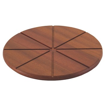 Tramontina Utilinea Round Jatoba Wood Pizza Serving Board 30cm