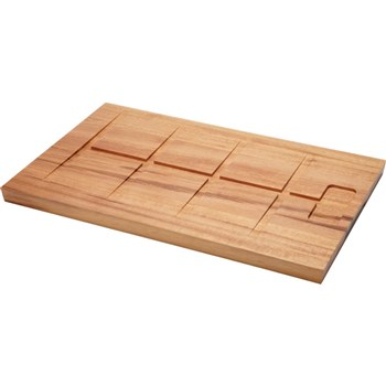 Tramontina Churrasco Rectangular Carving Board with Grooves 40 x 27cm