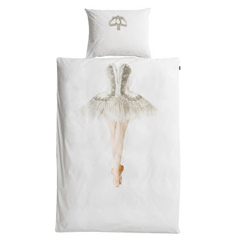 Snurk Ballerina Quilt Set Single