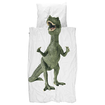 Snurk Dinosaurus Rex Quilt Set Single