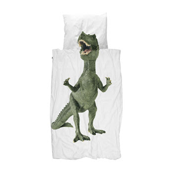 Snurk Dinosaurus Rex Quilt Set King Single