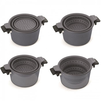 Woll 24cm Silicone Pot Steamer Insert