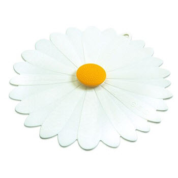 Charles Viancin 20cm Daisy White Silicone Lid