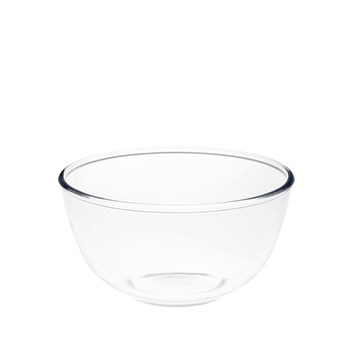 Pyrex Classic Glass Round Mixing Bowl 1L Transparent