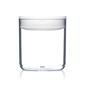 ClickClack Pantry 1.6L Round Container White