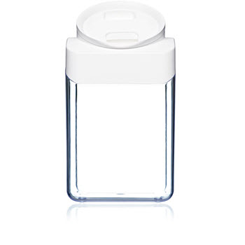 ClickClack Pantry 4.2L Round Container White