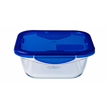 Pyrex Cook & Go Square Roaster with Lid 1.9L