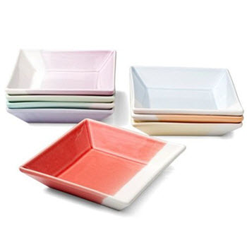 Royal Doulton 1815 Set of 8 Tapas Square Tray