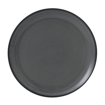 Royal Doulton Ellen Degeneres Dinner Plate 28cm Grey Brush Glaze