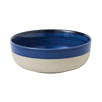 Royal Doulton Ellen Degeneres Bowl 16.5cm Cobalt Blue Brush Glaze