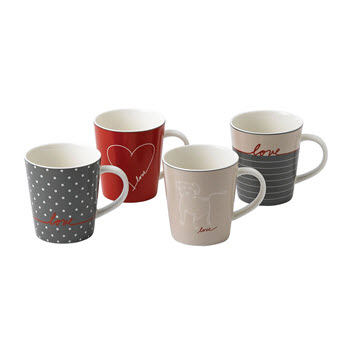 Royal Doulton Ellen Degeneres 475ml Signature Mug Set of 4