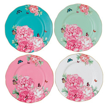 Royal Albert Miranda Kerr 20cm Cake Plates Set of 4