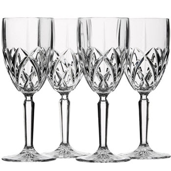 Waterford Marquis Brookside White Wine Glass Set of 4