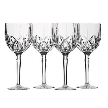 Waterford Marquis Sparkle Set of 4 Goblet Wine Glass