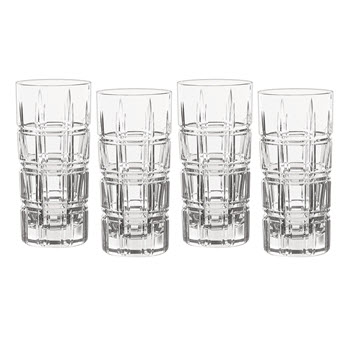 Waterford Marquis Crosby Barware HighBall  Set of 4