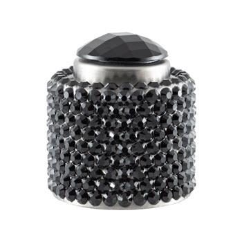 Wine Stoppers Crystal Diamante Champagne Stopper Black